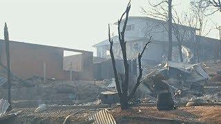 Австралийцев эвакуируют из-за пожаров, в Татре сгорели десятки домов