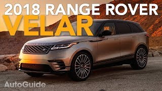 2018 Land Rover Range Rover Velar First Drive Review