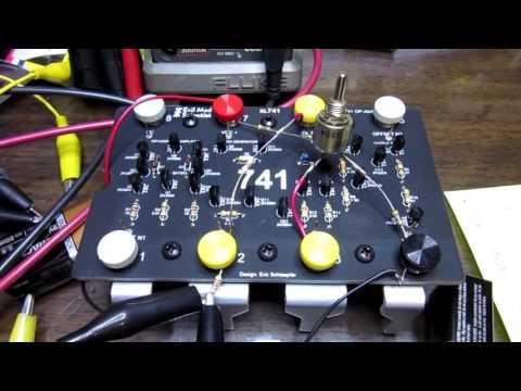 """Building the """"XL741"""" Discrete 741 Op Amp Kit"""