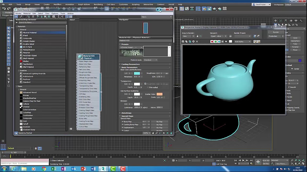 3ds Max 2019 - New Features/Updates - YouTube