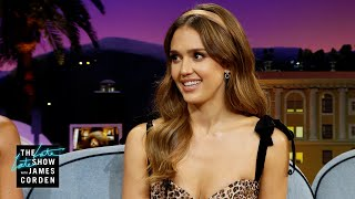 Jessica Alba's Dad & Husband First Met Over Very Intense Golf