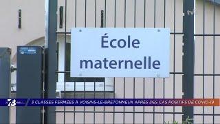 Yvelines | 7/8 Le Journal (extrait) – Rentrée perturbée à Voisins-le-Bretonneux à cause du COVID-19