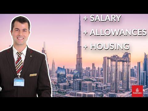 ✈️ Emirates Cabin Crew: Salary + Accommodation + Benefits | Emirates Careers 2021