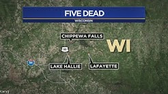 5 Dead, 2 Injured In Wisconsin Shootings