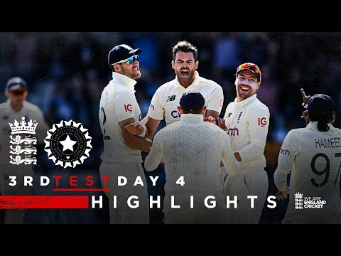 Stunning England Display! | England v India - Day 4 Highlights | 3rd LV= Insurance Test 2021