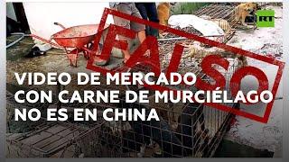 El video viral del mercado 'chino' en el que empezó el coronavirus en realidad es en Indonesia