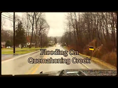Flooding On Quemahoning Creek