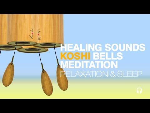 [432hz] Healing Organic Sounds + Koshi Bells | Water | Wind Chimes | Relaxation | Sleep Music 🎧