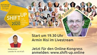 "Armin Risi im Livestream mit  zum Thema ""Make that Change!"" Michael Jackson"