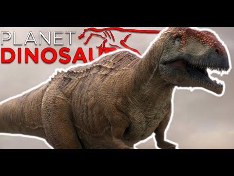 Planet Dinosaur - Mapusaurus roseae