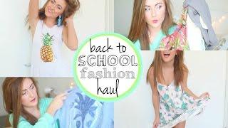 HUGE Back to School Clothing Haul ❤ Try-On Haul