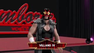 WWE 2K17 - WCW 1998 Episode 3 - Cruiserweights and Luchadores