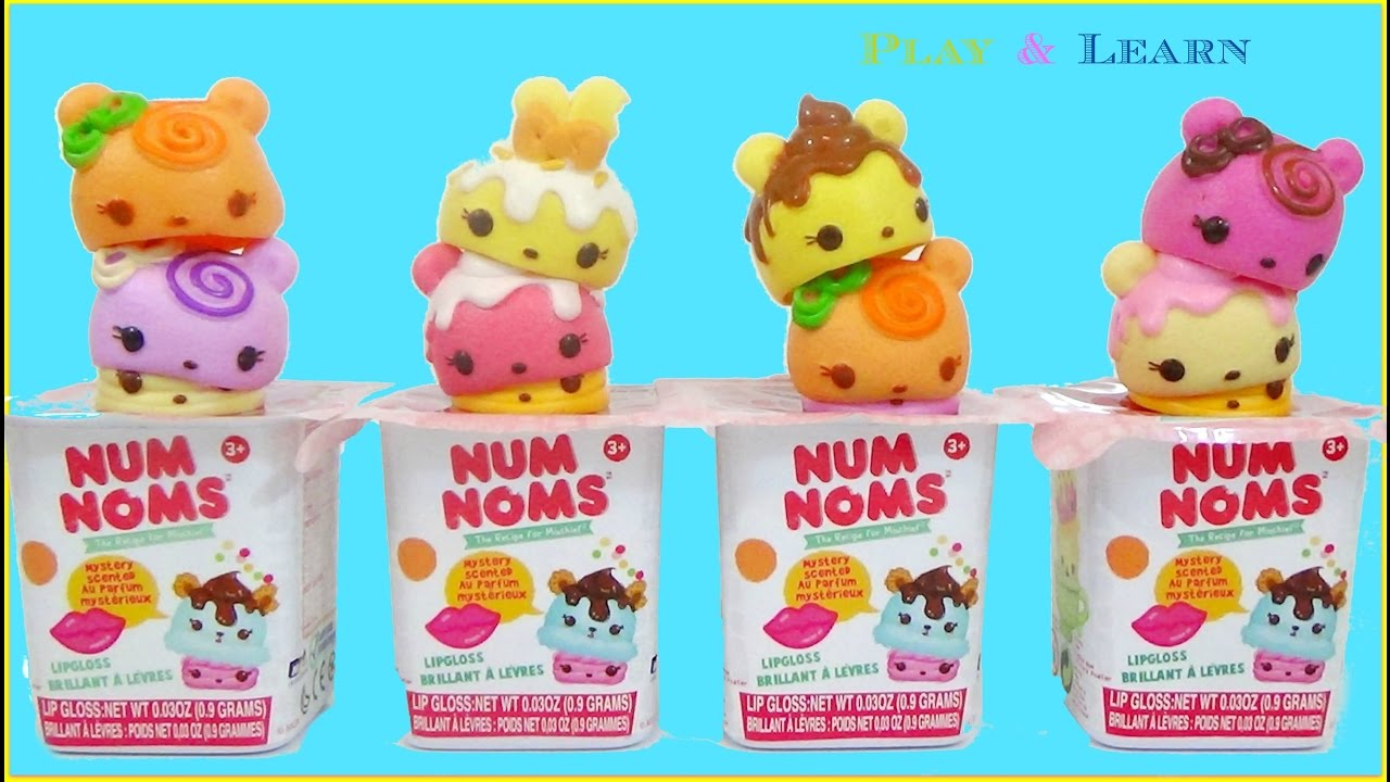 num noms snackables cupcake lip gloss surprise num noms. Black Bedroom Furniture Sets. Home Design Ideas
