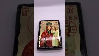 Икона на дереве Богородица Призри на смирение