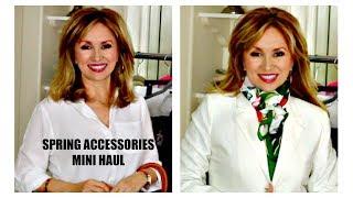 SPRING FASHION ACCESSORIES MINI HAUL | TJ MAXX | MARSHALL