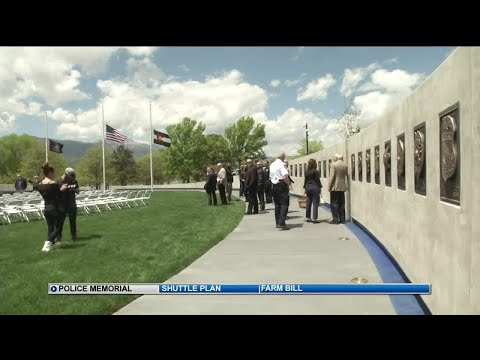 Fallen Peace Officers Memorial unveiled in Colorado Springs
