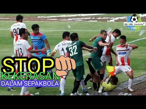 WOW !!!! Kerasnya Liga Indonesia Sering Memakan Korban ⚽