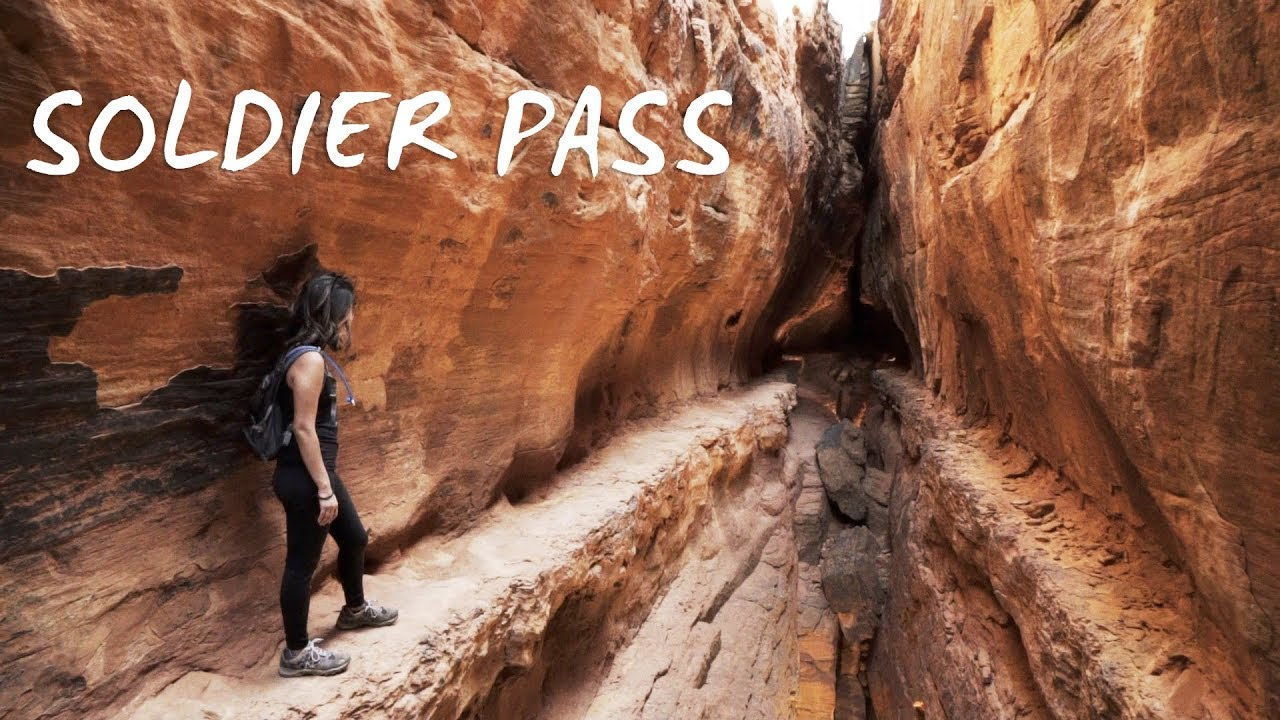 Soldier Pass Trail A Climb Inside The Arches Youtube