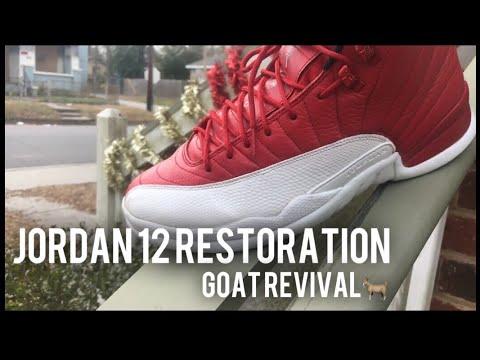 JORDAN 12 RESTORATION : GOAT REVIVAL + TIME LAPSE