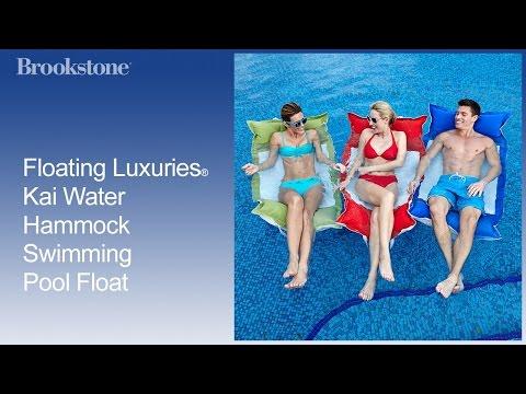 Floating Luxuries® Kai Water Hammock Swimming Pool Float