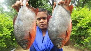 Awesome Cooking Delicious Full Fish Curry Recipe( Without Cut ) | VILLAGE FOOD