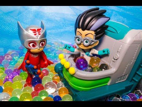 Мультики с игрушками. Герои в масках и орбиз! Видео для детей