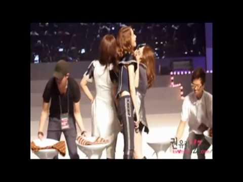 YoonYul Fight: Yuri like to tease Yoona