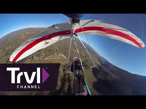 Lookout Mountain Hang Gliding Adventure - 360 Video