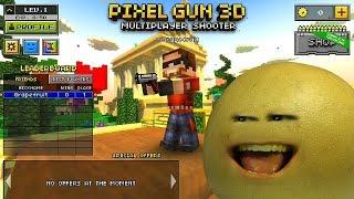 MINECRAFT WITH GUNS!? - Let's Play Pixel Gun 3D