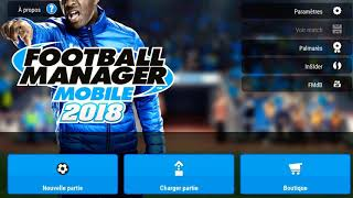 Football manager mobile 2018 avoir beaucoup d'argent