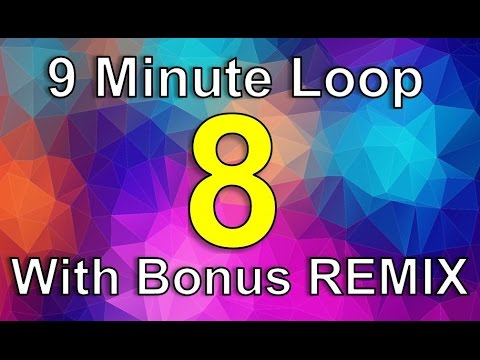 Skip Counting by 8 Song | 9 Minute Loop with Bonus REMIX! | Count by Eight Song | Silly School Songs