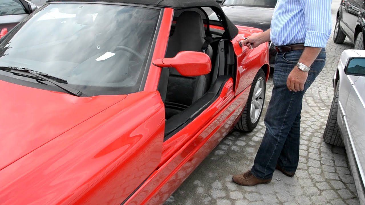 Bmw Z1 Doors Open And Close Youtube