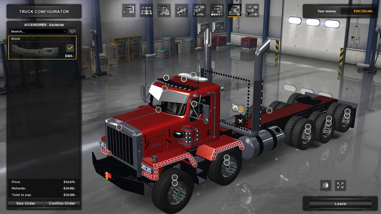 American Truck Simulator Kenworth C500 by JDM - YouTube