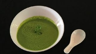 Indian Coconut, Vegetarian Vegetable Soup : Raw Vegan Recipes