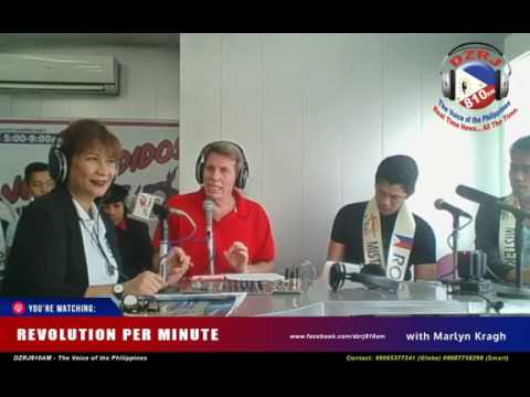 Mister Earth Philippines 2017 Radio Guesting with Marlyn Kra