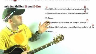 Gitarre spielen - Einsteiger (Tag 1) Eisgekühlter Bommerlunder Gitarre lernen online