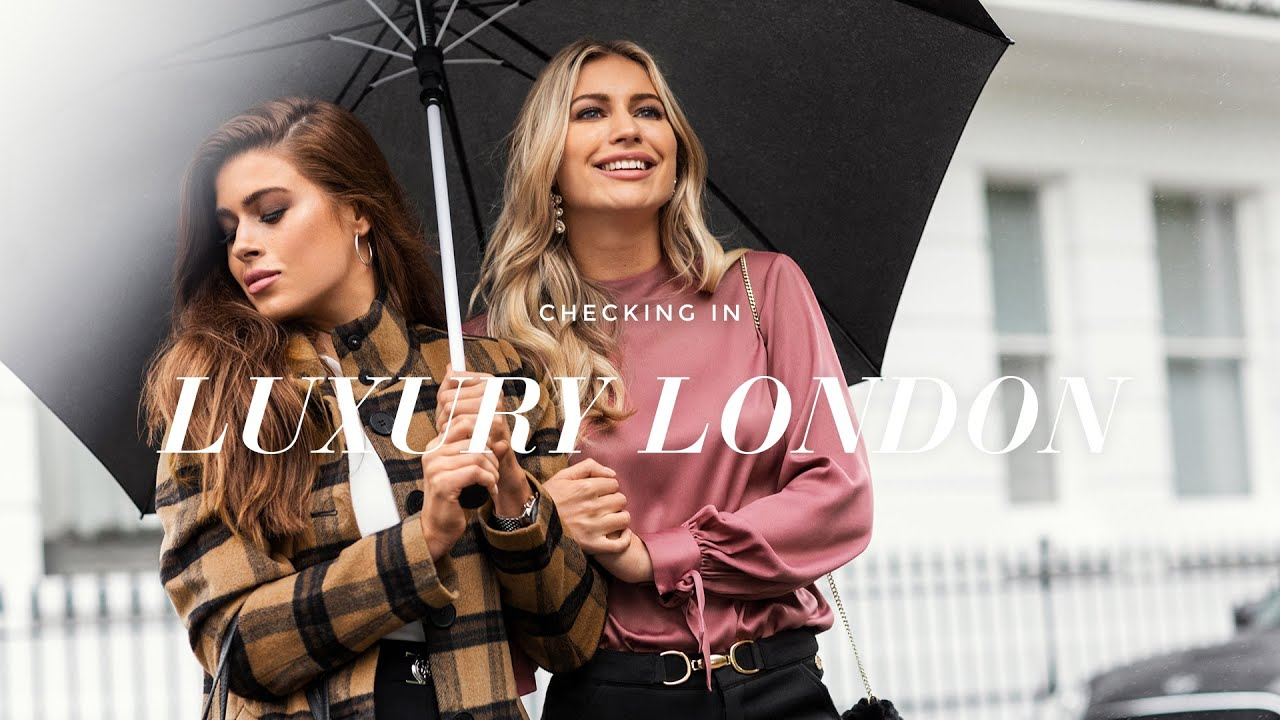 Fashion Trends | Luxury London with Tamara Francesconi and Klaudia | 2019