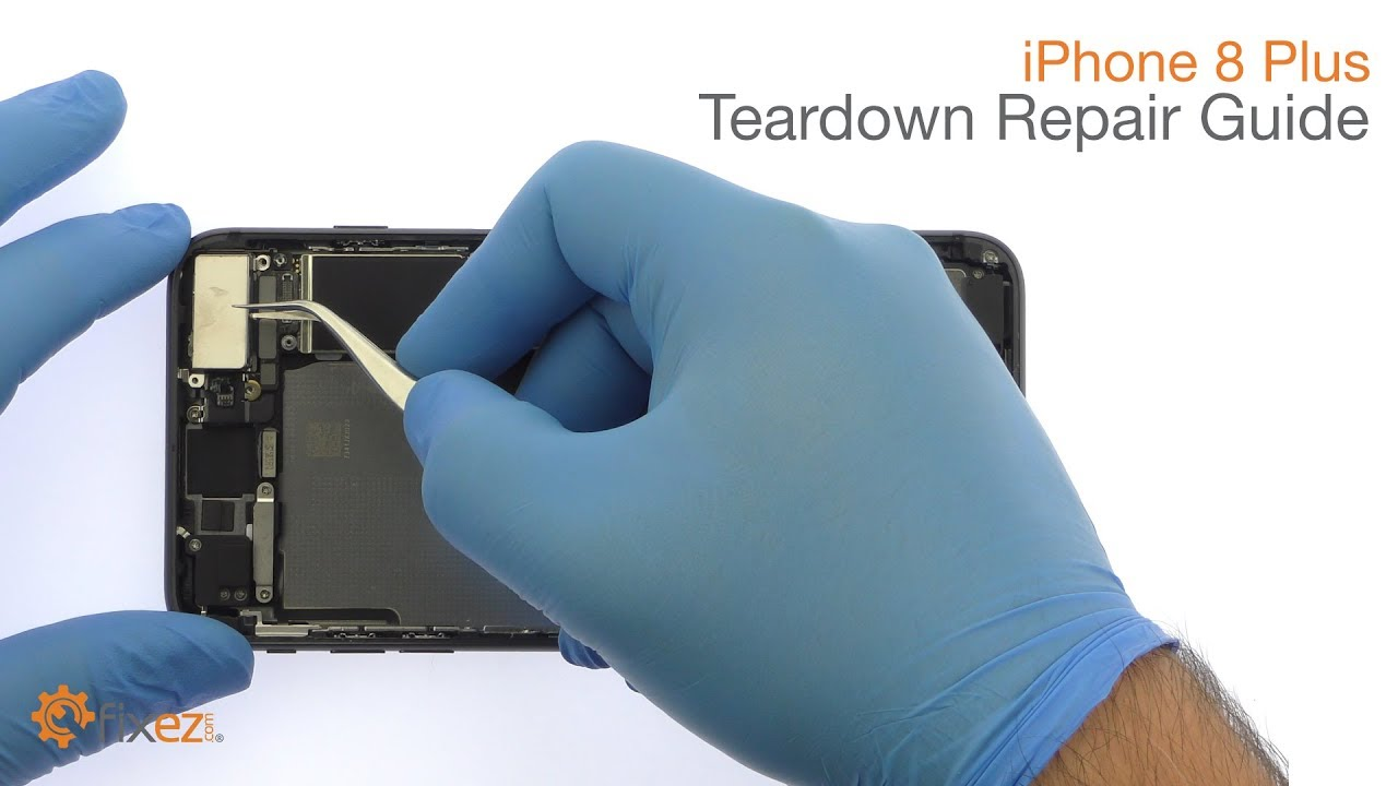 new product ec3de 48e6b iPhone 8 Plus Teardown Repair Guide - Fixez.com