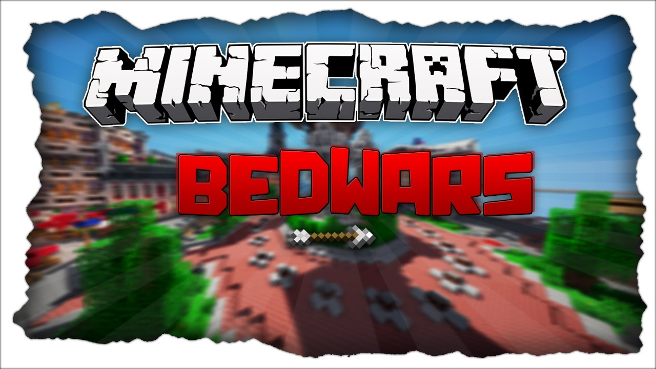 Minecraft Bed Wars Building An Actual Base In Bed Wars Hypixel Server Youtube