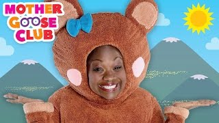 The Bear Went Over the Mountain | Mother Goose Club Songs for Children
