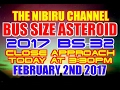 Download BUS SIZE ASTEROID 2017 BS-32 CLOSE APPROACH TO EARTH TODAY! MP3 song and Music Video