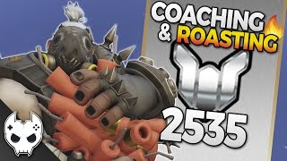 Overwatch Coaching and Roasting - Roadhog Zarya - Platinum 2535