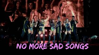 Little Mix - No More Sad Songs [ft. Machine Gun Kelly]  (The Glory Days Band Tour)