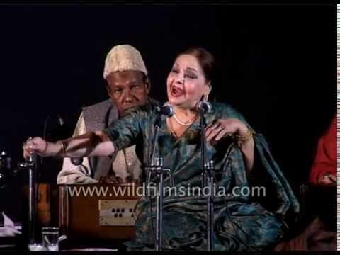 'Yun Saja Chand Ke Chhalka Tere Andaz Ka Rang' - by Farida Khanum