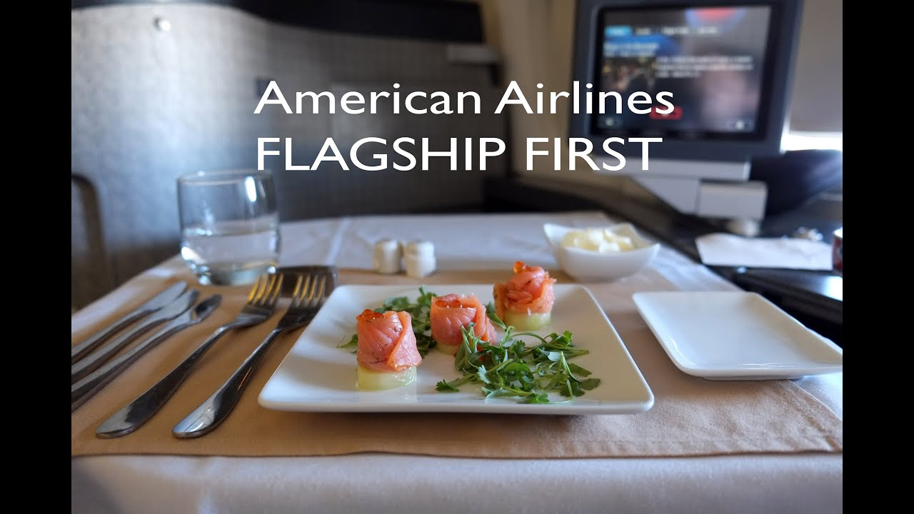 American Airlines Flagship First Cl Aa 169 From Lax To Nrt