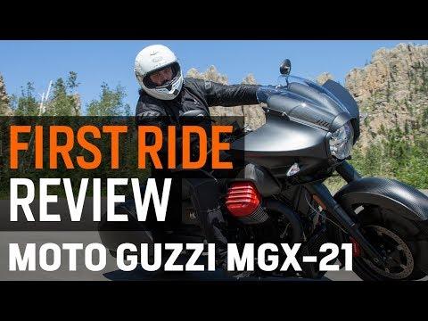 Moto Guzzi MGX-21 Flying Fortress First Ride Review At RevZilla.com