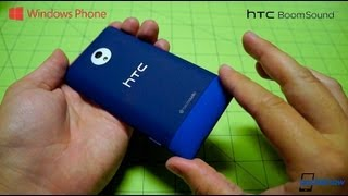 HTC 8XT, first Windows Phone with BoomSound, unboxing