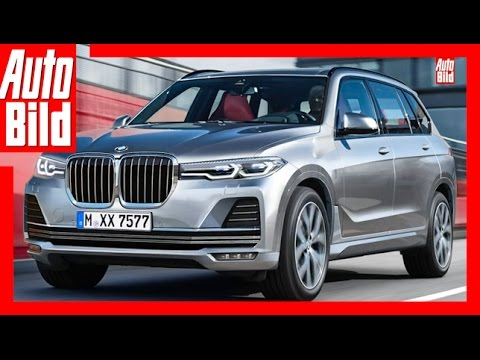 zukunftsaussicht bmw x7 2017 vorstellung youtube. Black Bedroom Furniture Sets. Home Design Ideas