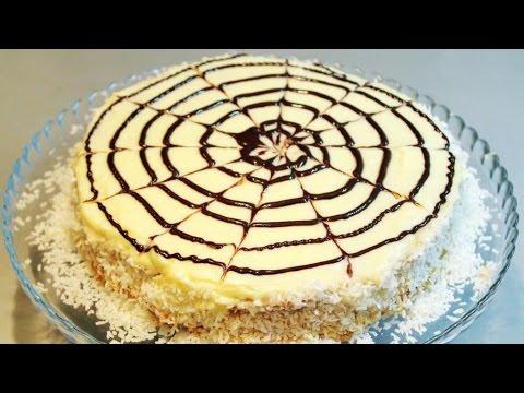 Десерт - Торт Дрова под снегом| Пошаговый рецепт приготовления