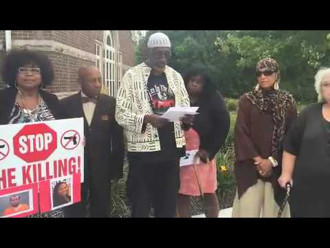 Highlights of activist press conference on Deborah Pearl fatal shooting